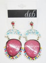 Fashion Agate Earrings