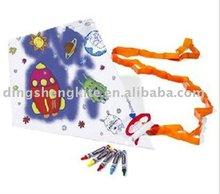 chinese beautiful flying graffiti kites for children