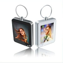 """New Arrival! Fashionable portable photo viewer for new year """"iPhone 4"""" keyring 1.5 inch dig digital keyrings photo picture frame"""