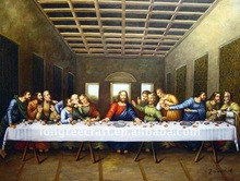 Famous Last Supple Jesus Christ Oil Paintings