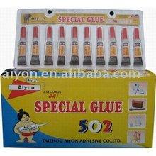 Super Glue in Aluminum package
