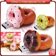 chocolate donut usb flash drive, strawberry donut usb pen drive