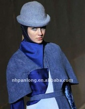 faux fur animal hat&blue and white fedora&2012 fashion winter hats