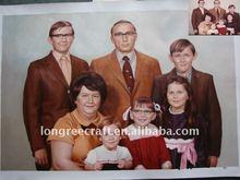 Family Portrait Oil Painting