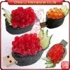 customize 3D SUSHI shape usb pen drive, custom silicon usb drive foods shape