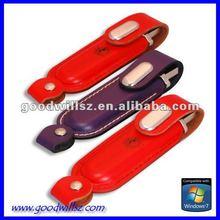 1GB - 16GB Leather USB Free Printing