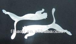 laser metallic foil heat transfer paper printing sheet for textile