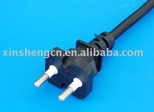 Korean Standard, KETI approved 2-Pin (Round) Power Cord