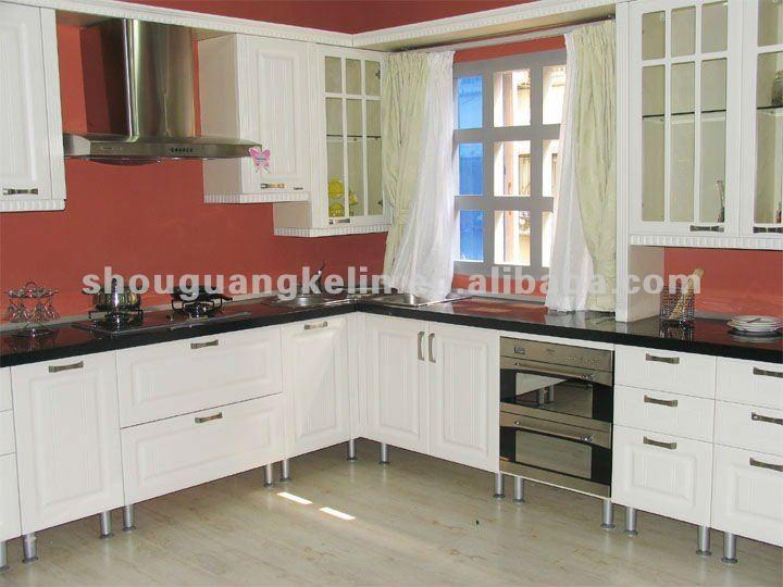 Categories Kitchen Cabinet Melamine MDF Finished Kitchen Cabinet