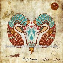 Capricorn!!! The Zodiac fabric painting designs