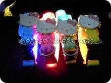 2012 fashion cartoon design high quality led dog collars,tpu dog collar
