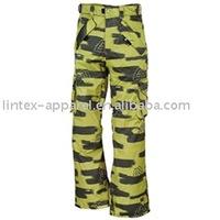 Children Snowboard Military Cargo Pant