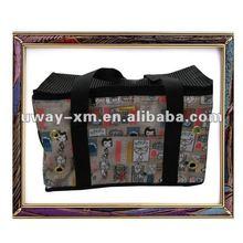 UW-PB-024 beauty patterned favorite canvas pet bag