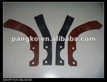 Farm equipment part power tiller blade for wet cultivation