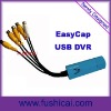 NEW Win7 USB 4-Ch Easycap Video Capture with audio, USB Grabber
