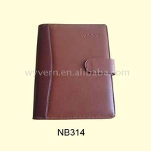 A5 PU Leather Agenda 2012