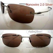 2012 fashion sunglasses Nanowire 2.0 3Colors Titan temples Mens sunglasses Wholesale Dropshipping