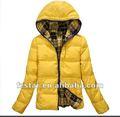 equipado de la mujer chaqueta abajo para ha054