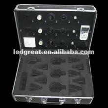 black aluminum demo case/show case/box