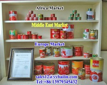 2.2kg*6tins canned tomato paste Hot sale in Mali Market