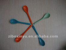 12cm Length colorfull ceramic spoon