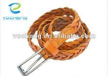2012 new style fashion braid belt