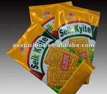 All over printing snack food bag