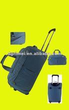 2012 New Washed Fabric Travel Luggage Trolley Bag