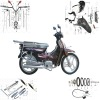 110cc dayun motorcycle spare parts dy110
