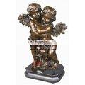 de cobre de ángel de la escultura estatua querubín