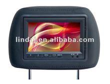 7 inch Car Monitor Auto Poggiatesta Monito Backlight/IR