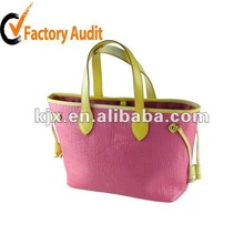 pretty lady fashion lady handbag 2012 design