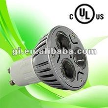 UL cUL approved 11w GU10 LED bulb light with 3 years warranty