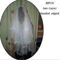 الجملة الجديدة hhv10 2011 طبقتين عينة حقيقية ارتفع حبة زفاف العروس الحجاب