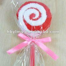 lollipop cake towel
