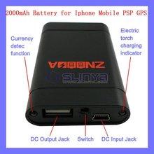 Hot product!!3600mAh Portable Rechagable Battery Charger for iPhone Nokia Samung Moto V3 V8 LG