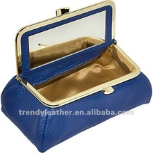 2012 fashion cosmetic bag with mirror