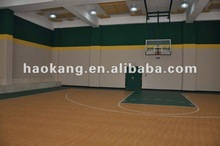 vinyl Basketball floor