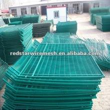 PVC fence panel/plastic garden fence panels