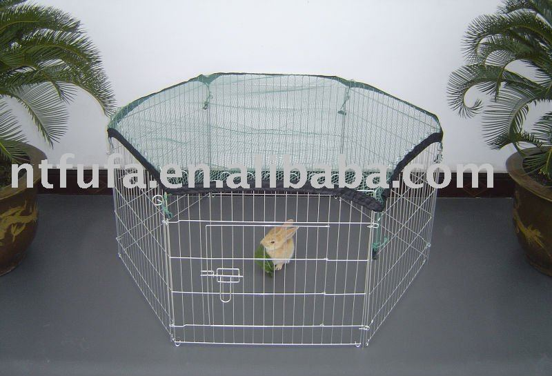 Iron Wire Dog Pen
