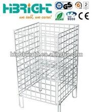 square wire dump bin/dump basket
