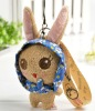 Plush Mobile Phone Key Chain for girl