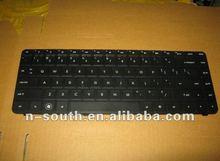 Computer keyboard Laptop keyboards For HP CQ42 US Black