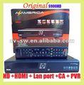 Original dvb-s2 iks az america s900 hd pvr receptor de