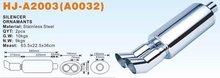 Big Muffler (exhaust muffler) (auto muffler) HJ-A2003(A0032) Good Good quality FREESHIPPING