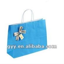 2012 GYY solid color kraft paper bag