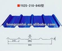 color steel corrugated metal tile