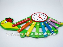 lovely and delicate wooden educational music toy for children