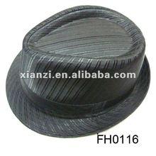 men cotton fedora hats for party