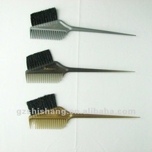 professional salon hair coloring brush and comb